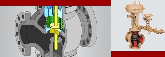 德国萨姆森samson280系列蒸汽减温减压控制阀图片